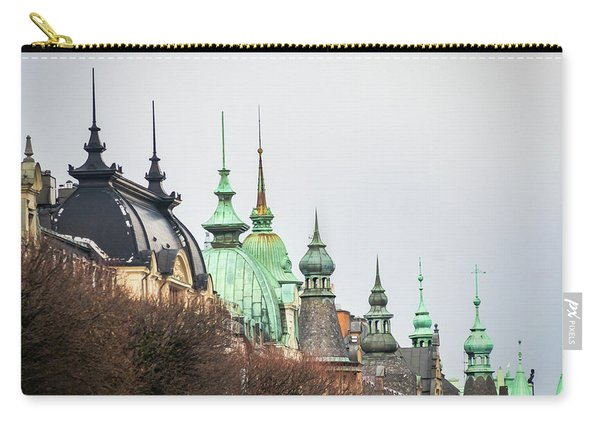 Spires Of Stockholm Carry-all Pouch