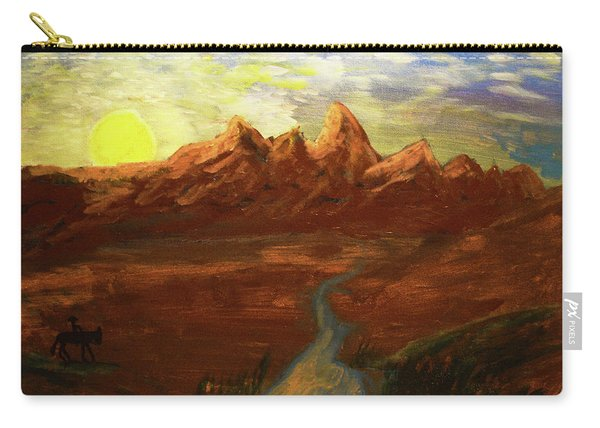 Spirit Of Wyoming Carry-all Pouch