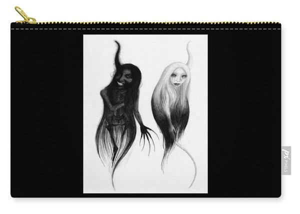 Spirits Of The Twin Sisters - Artwork Carry-all Pouch
