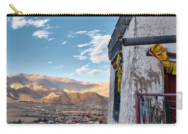 Carry-all Pouch featuring the photograph Spituk Gompa by Whitney Goodey