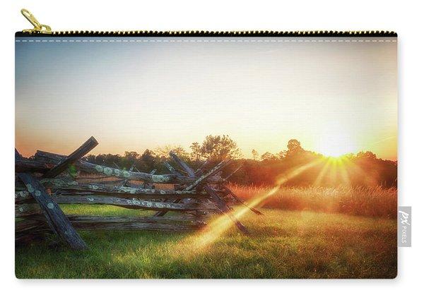 Split-rail Sunset Carry-all Pouch