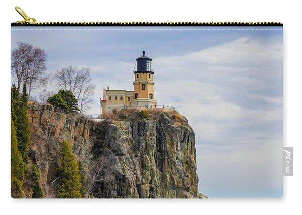 Split Rock Lighthouse Portrait Carry-all Pouch