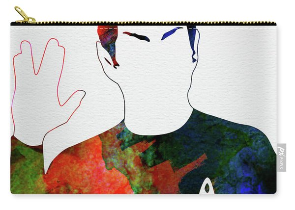 Spock Watercolor Carry-all Pouch