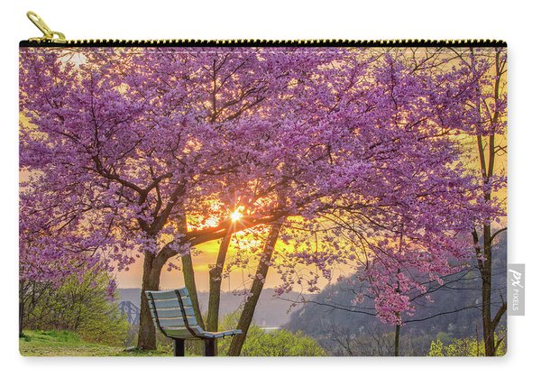Spring Bench In Beaver 2 Carry-all Pouch