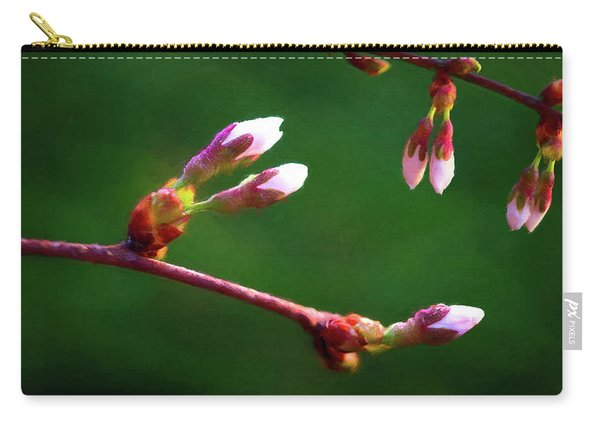 Spring Buds - Weeping Cherry Tree Carry-all Pouch