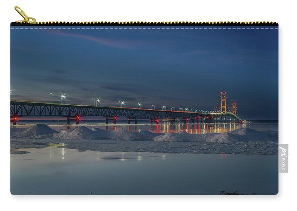 Spring Evening At The Mackinac Bridge Carry-all Pouch