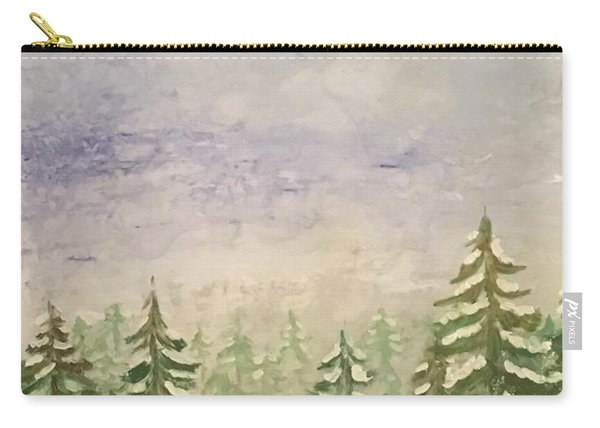 spring flurry Teton Style Carry-all Pouch