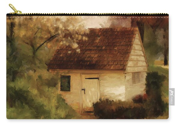 Spring House In The Spring Carry-all Pouch