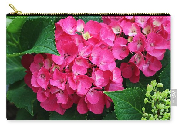 Spring Hydrangea Carry-all Pouch