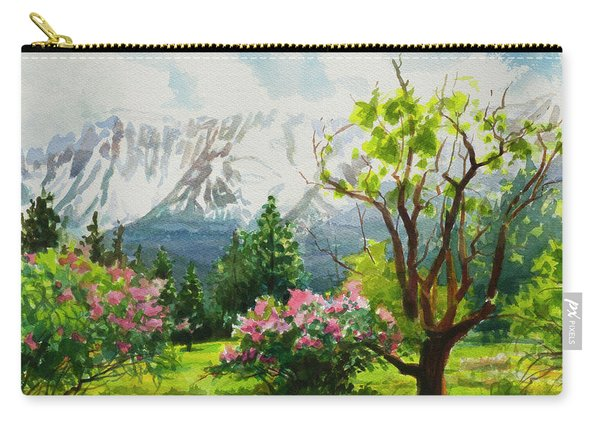 Spring In The Wallowas Carry-all Pouch