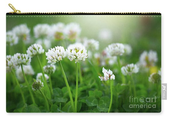 Raindrops On Clover Carry-all Pouch