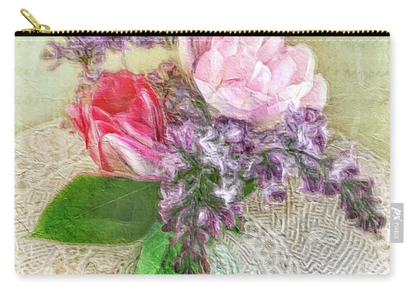 Spring Song Floral Still Life Carry-all Pouch