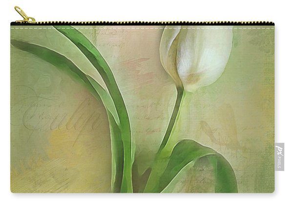 Spring Tulip Montage Carry-all Pouch