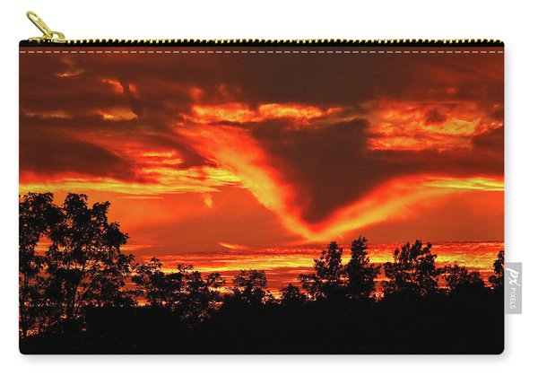 Springport, Michigan Sunset 4289 Carry-all Pouch