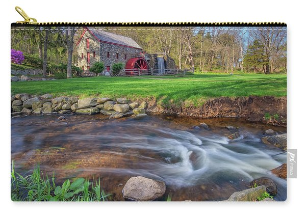 Springtime At The Grist Mill Carry-all Pouch