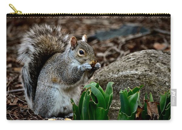 Squirrel And His Dinner Carry-all Pouch