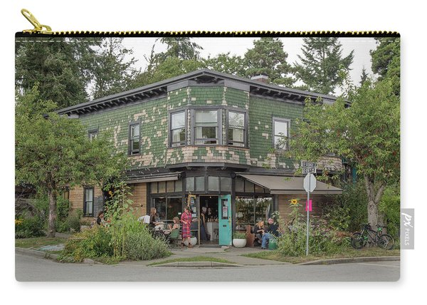 Carry-all Pouch featuring the photograph St George St. And E 28th by Juan Contreras