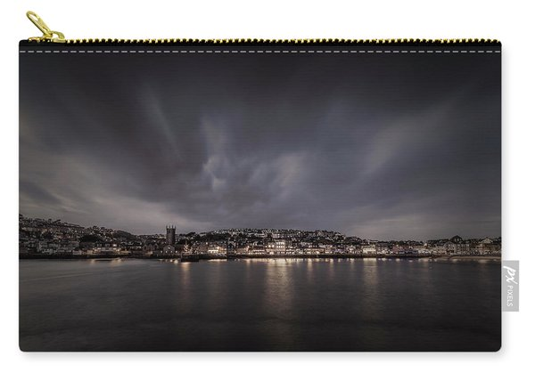 St Ives Cornwall - Dramatic Sky Carry-all Pouch