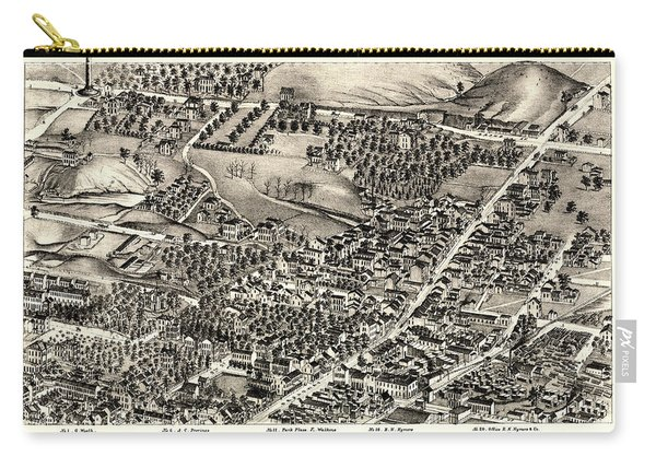 St. Louis Missouri Map 1875 Carry-all Pouch