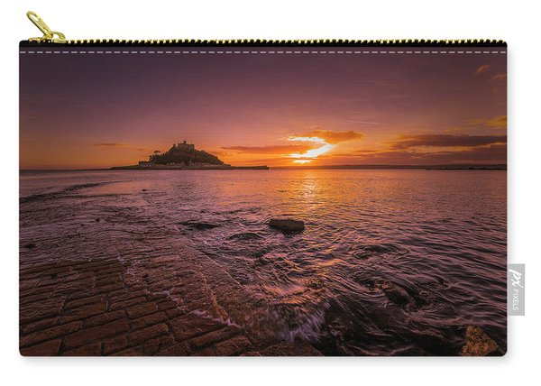St Michael's Mount - January Sunset Carry-all Pouch
