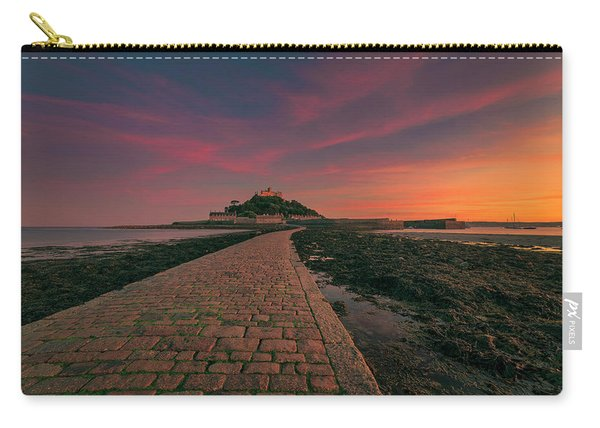 St Michael's Mount Sunset Carry-all Pouch