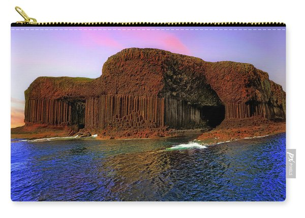 Staffa And Fingal's Cave - Scotland - Sunset Carry-all Pouch