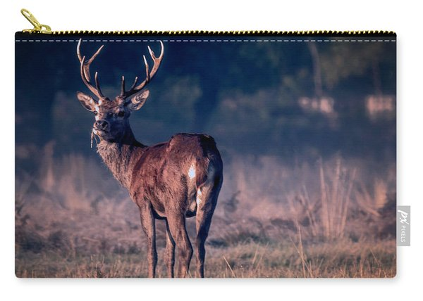 Stag Eating Carry-all Pouch