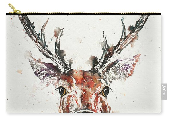 Stag Portrait Carry-all Pouch