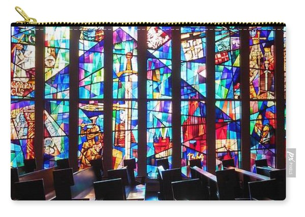 Stained Glass Historical Our Lady Of Czestechowa Shrine Carry-all Pouch