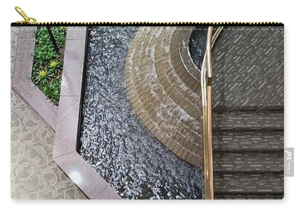 Stairs And Fountain  Carry-all Pouch