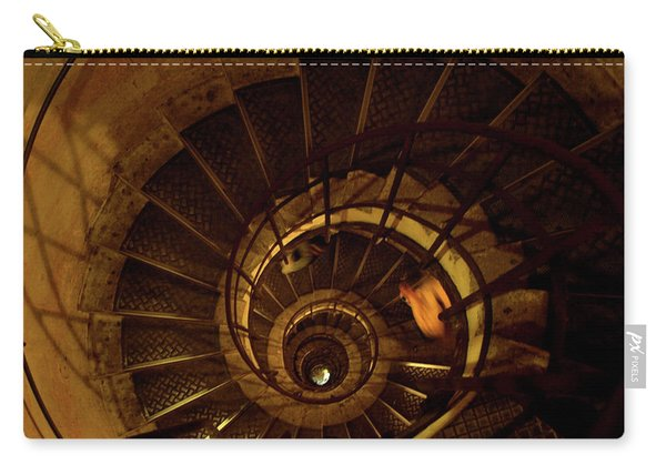 Carry-all Pouch featuring the photograph Stairs by Edward Lee