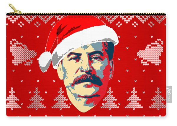 Stalin Merry Christmas Russian Letters Carry-all Pouch