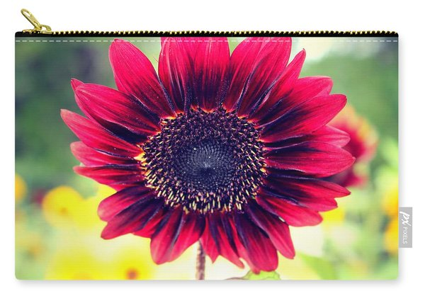 Carry-all Pouch featuring the photograph Stand Out by Candice Trimble