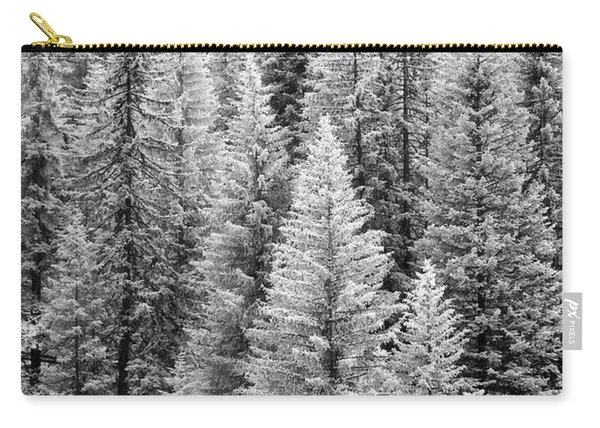 Standing Tall In The French Alps Carry-all Pouch