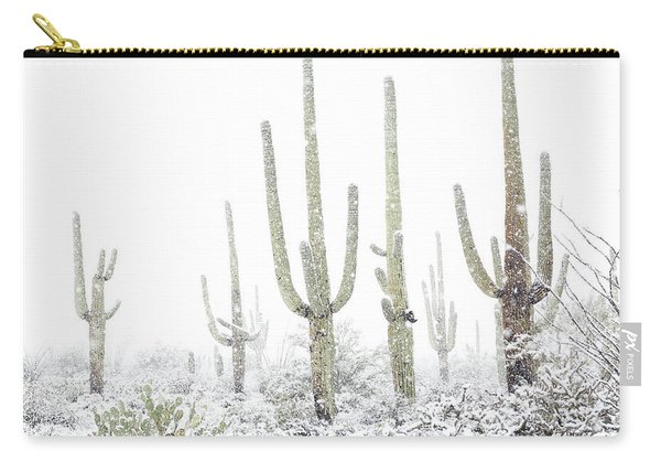 Carry-all Pouch featuring the photograph Standing Tall  by Jean Clark