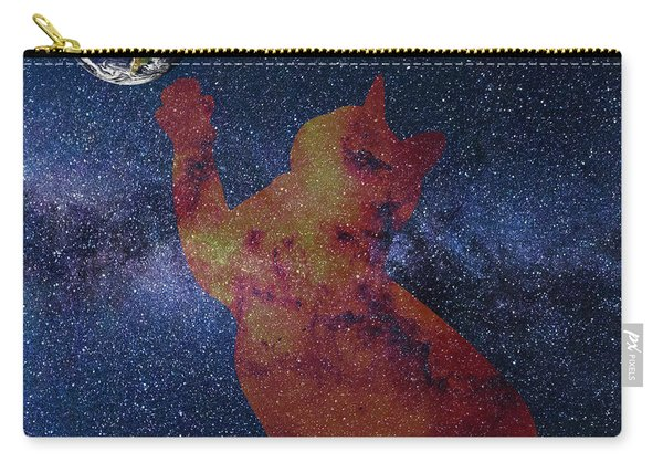 Star Cat Carry-all Pouch