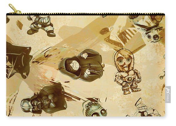 Star Wars Sticker Wall Carry-all Pouch