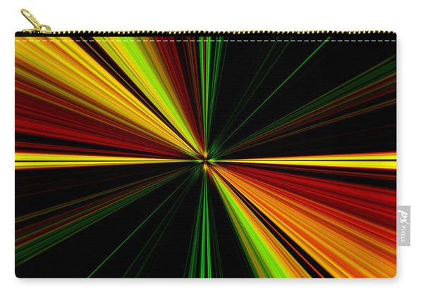 Starburst Light Beams Design - Plb461 Carry-all Pouch