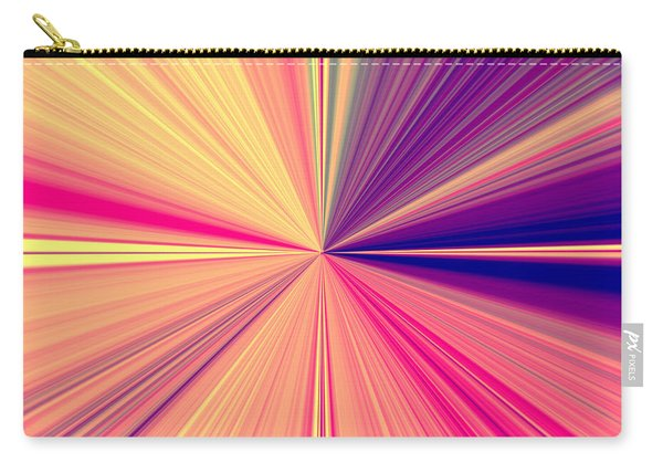 Starburst Light Beams In Abstract Design - Plb457 Carry-all Pouch