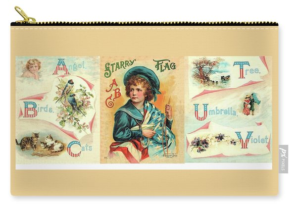 Starry Flagg Wrap A Round Carry-all Pouch