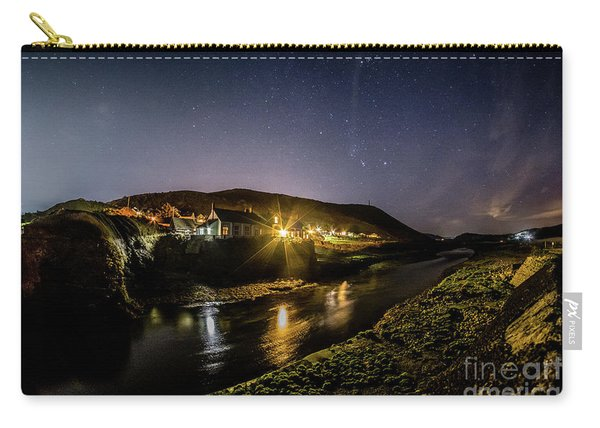 Starry Night In Aberystwyth Carry-all Pouch