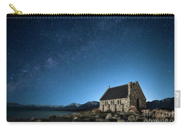 Stars And Midnight Blue Carry-all Pouch