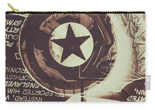 Stars And Shields Carry-all Pouch