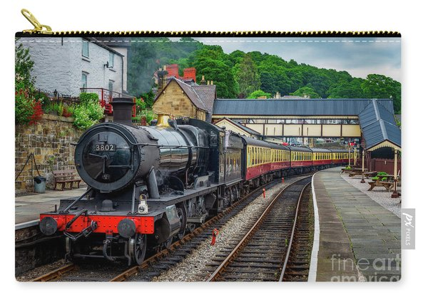 Steam Locomotive Wales Carry-all Pouch