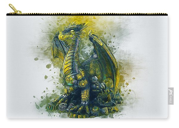Steampunk Dragon Carry-all Pouch