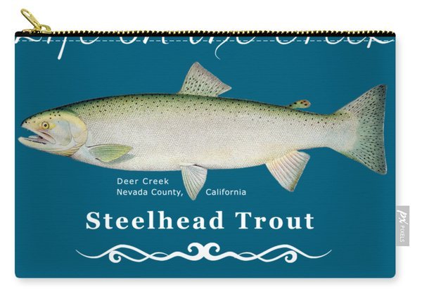 Steelhead Trout Carry-all Pouch