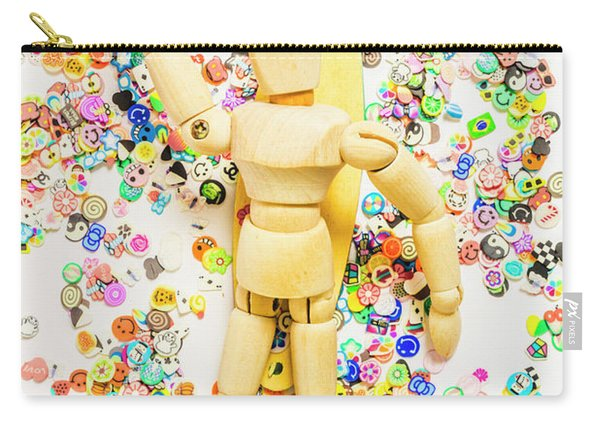 Sticker Surf Carry-all Pouch