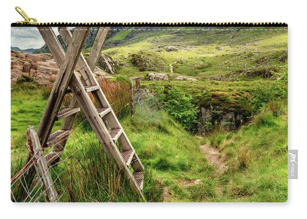 Stile To Tryfan Mountain Carry-all Pouch
