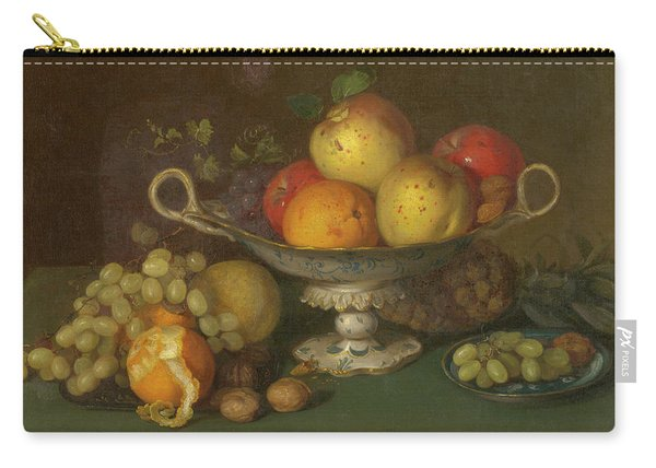 Still Life With Fruit, 1844 Carry-all Pouch