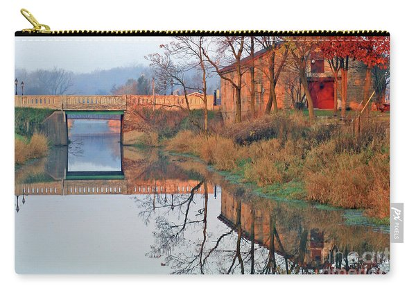 Still Waters On The Canal Carry-all Pouch
